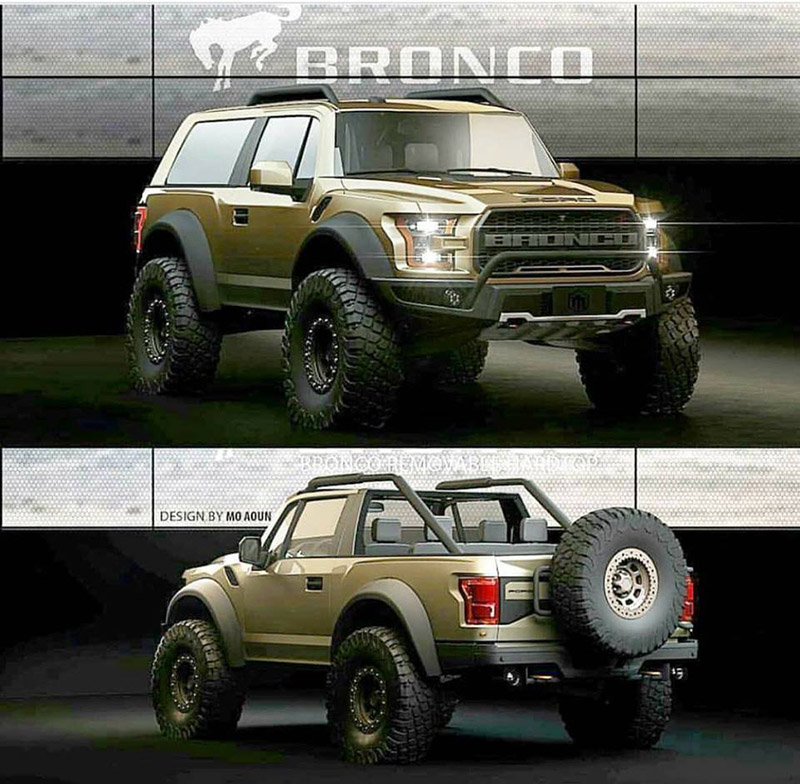 2021 Ford Bronco Release Date, Pics, Redesign, And Price >> 2021 Ford Bronco 2 Door Convertible Rendering 2020 2021 Ford