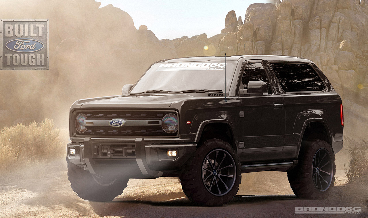 2020 Ford Bronco Concept Rendering | 2020-2021 Ford Bronco ...
