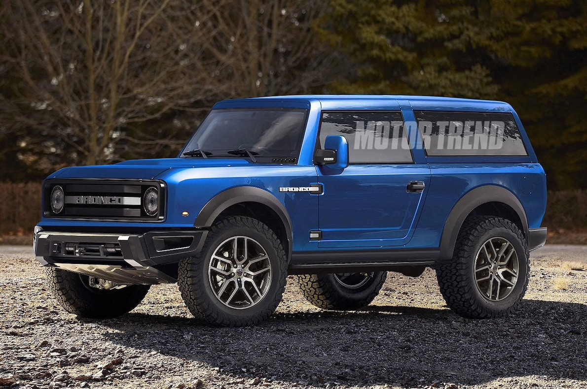 2020 Ford Bronco Concept Rendering Page 13 2021 Ford