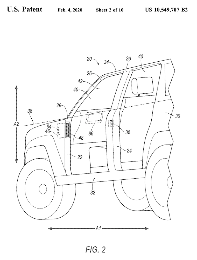 2021 Ford Bronco Removable Doors Restraint Patent 3.png