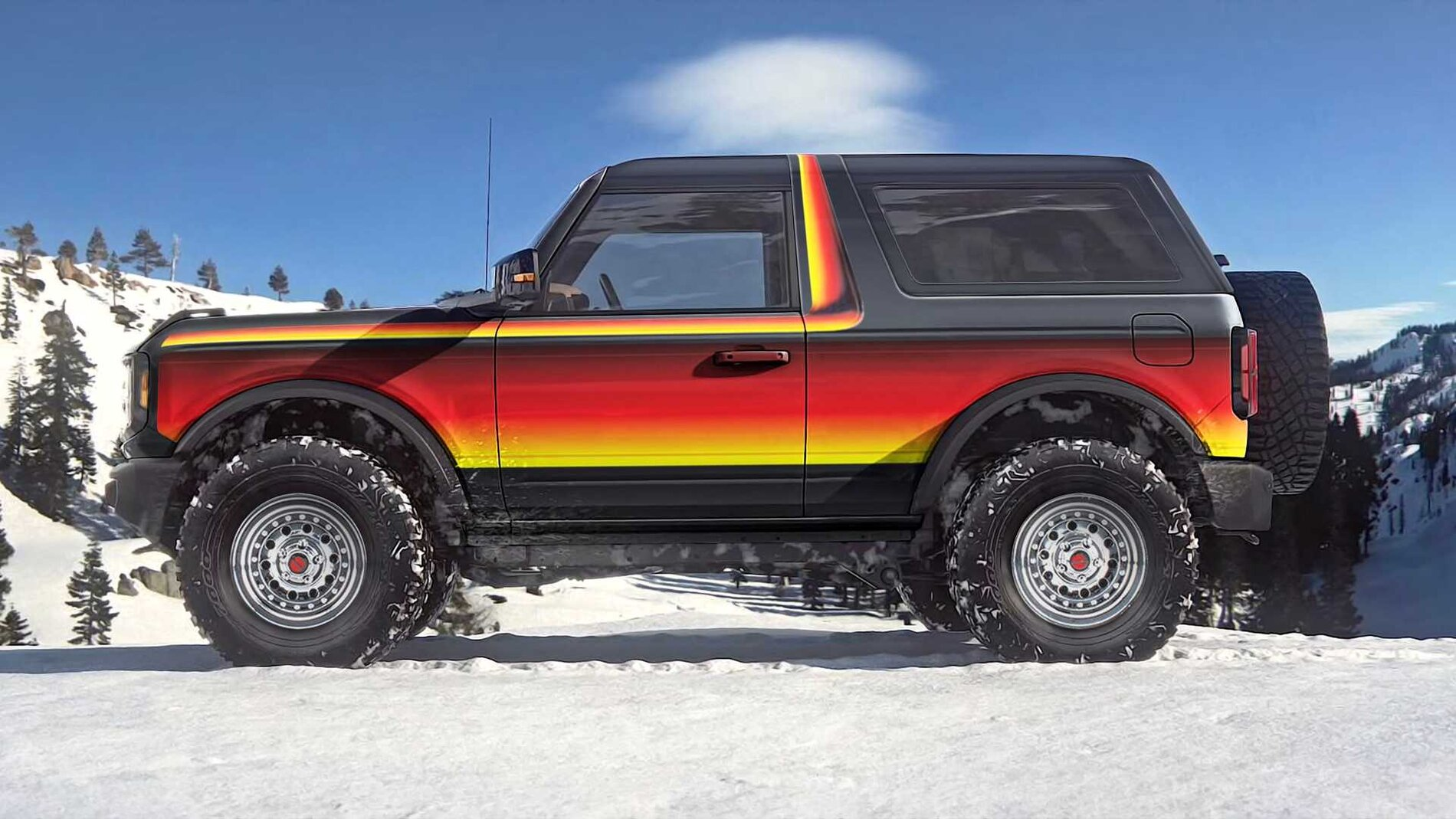 How ford should approach the v8 bronco platform (hold your ...