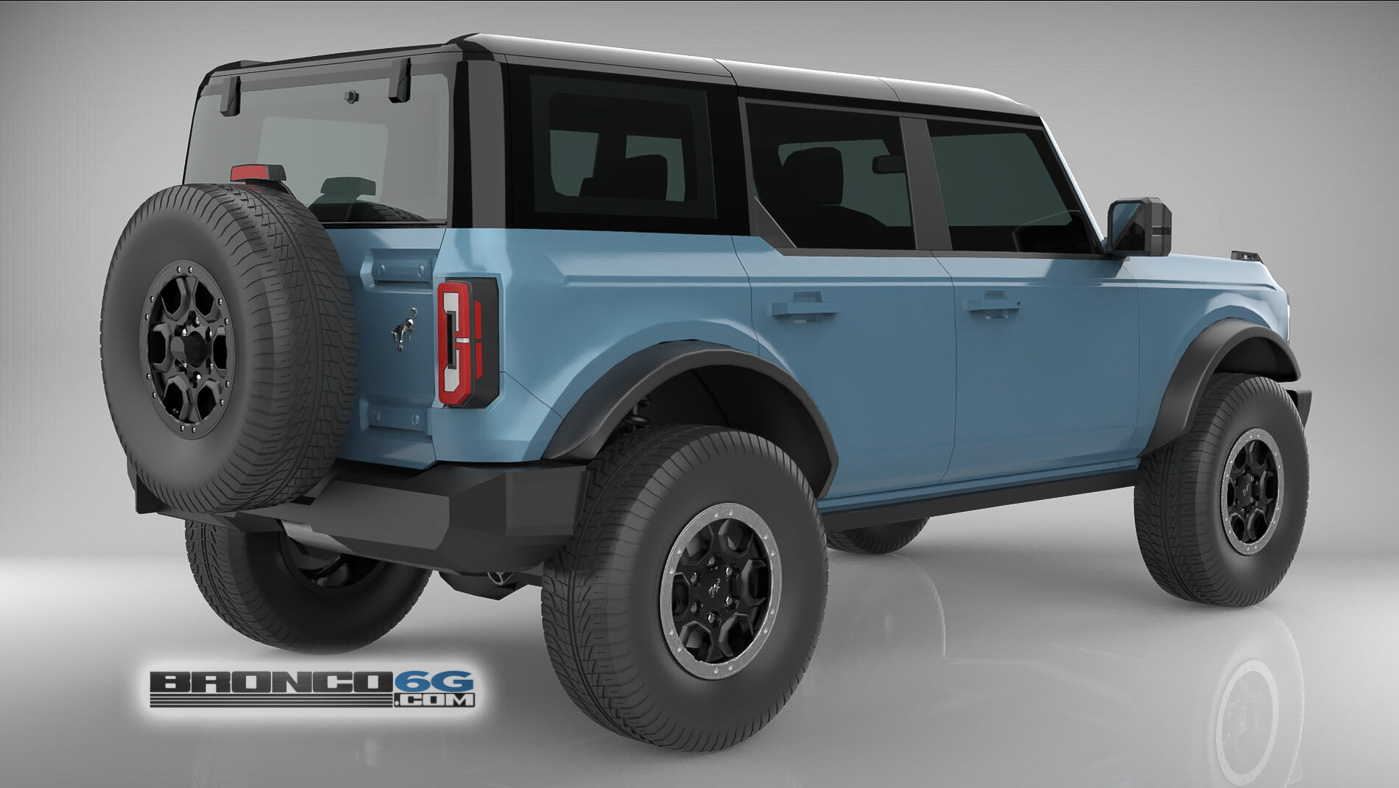 Area 51 4 Door 2021 Bronco3D Model Rear.jpg
