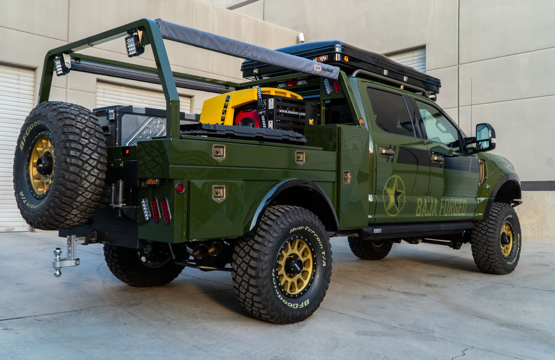Baja Forged Ford F250 Overland Survival Truck Bronco6g 2021 Ford Bronco Forum News Blog Owners Community