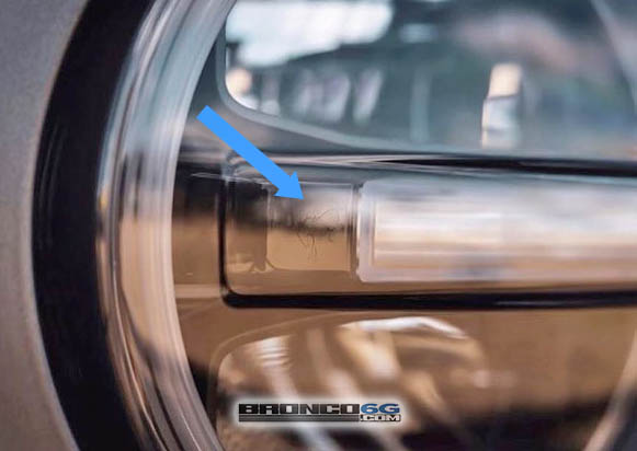 Bucking Bronco Easter Egg Ford Bronco LED Headlights Close Up.jpg