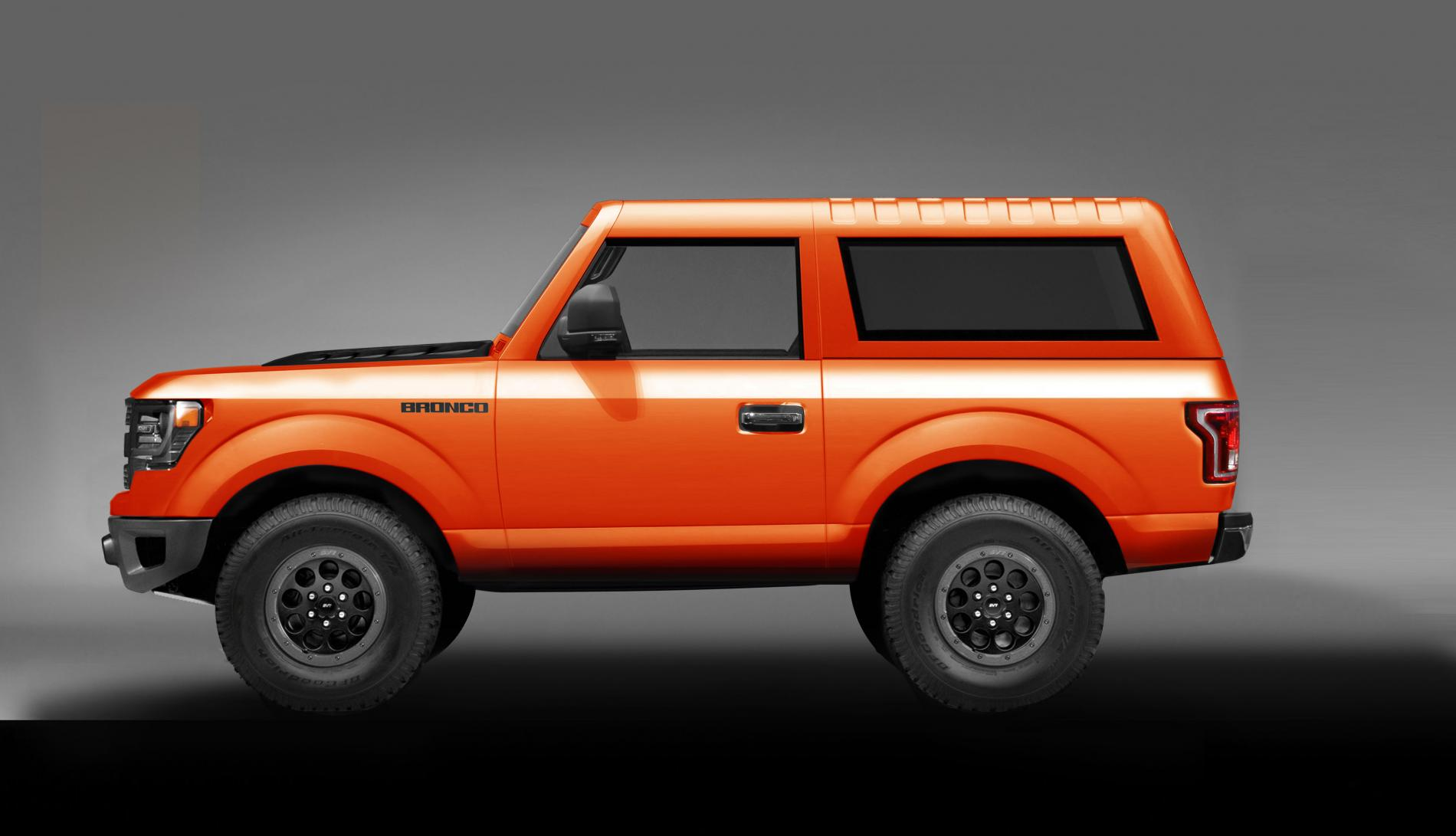2020 Ford Bronco Concept Rendering