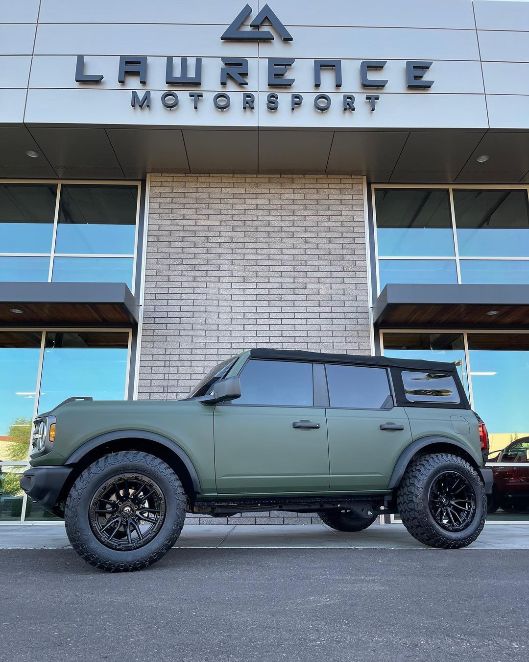 Matte Green Wrapped 2021 Ford Bronco.jpg