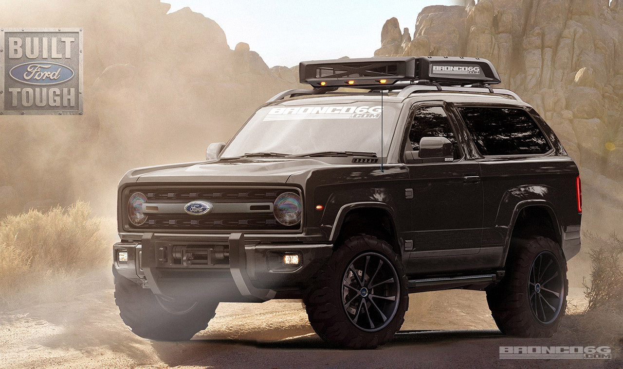 Our 2020 Ford Bronco Concept