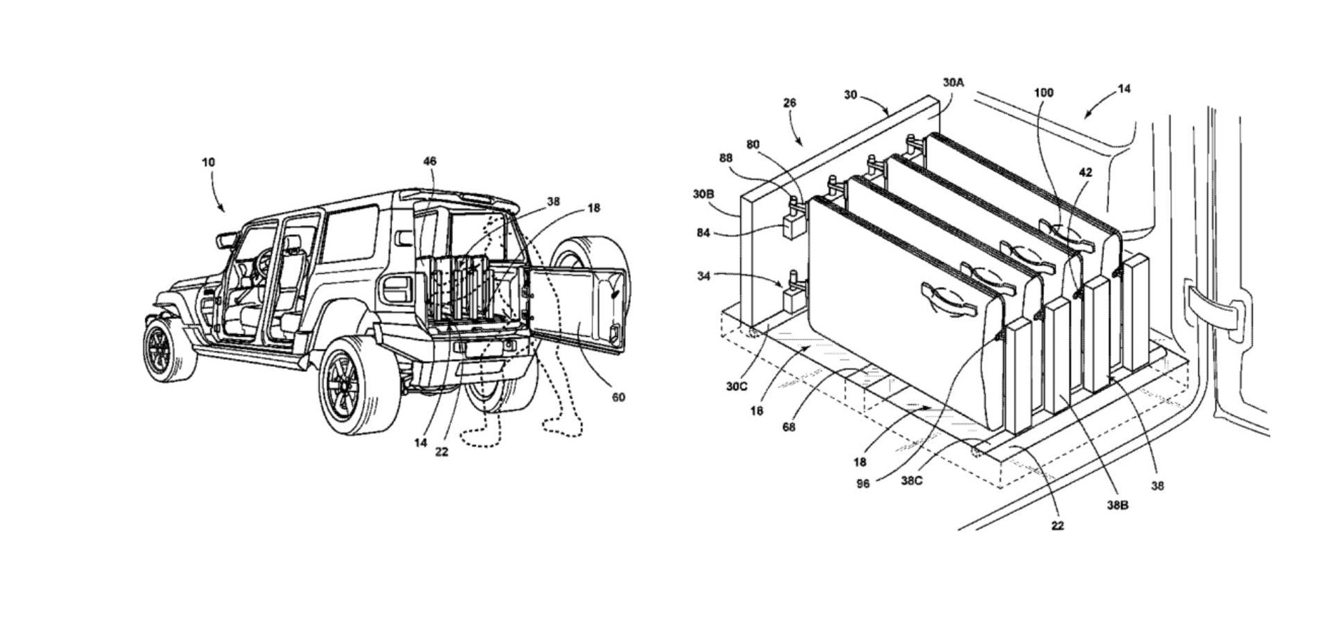 nine door patents that could apply to the 2021 bronco   2021 ford bronco forum  info