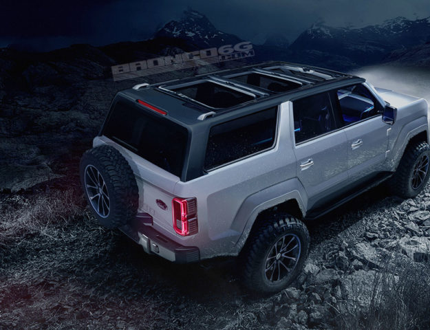2020 Ford Bronco Renders Based On Official Teaser 2020