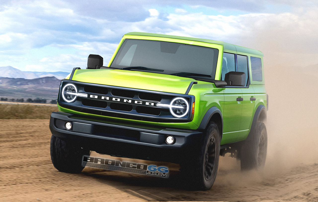 grabber lime 2021 bronco preview renderings  page 2