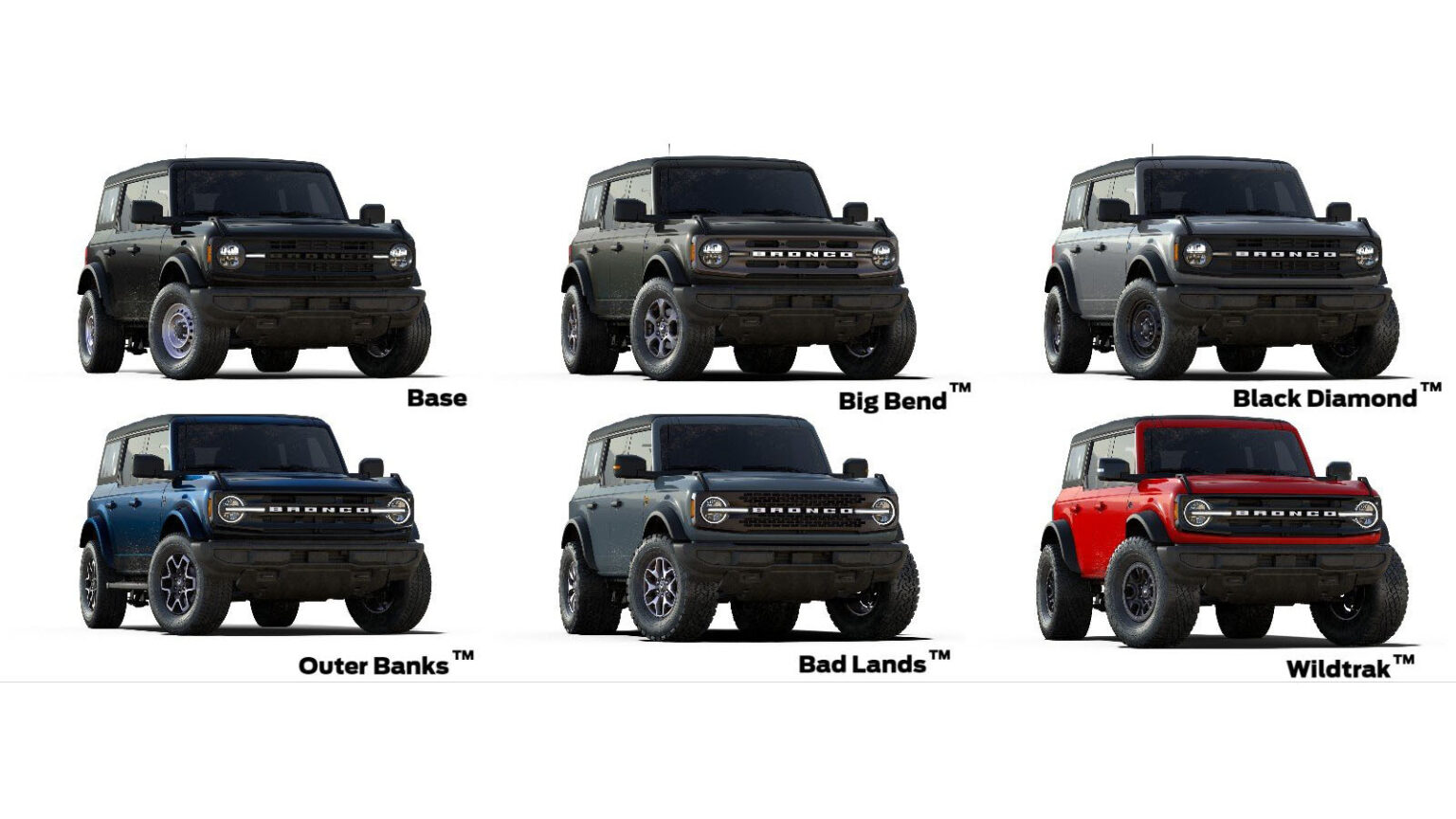 Ford Update Bronco Build Price Coming In September With Ordering In December Bronco6g 2021 Ford Bronco Forum News Blog Owners Community